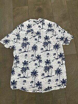 Boys Summer Palms Shirts H&M 11-12 Years 152 Cm