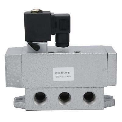 2 Position 4 Way Electric Solenoid Valve Aluminum Alloy Industrial Products