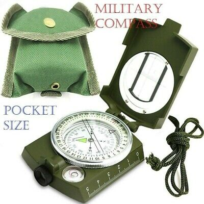 Military Army Compass Map Scale Outdoor Camping Hiking Survival Gear UK
