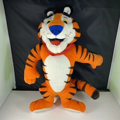 Tony the Tiger 1991 Plush Stuffed Animal Toy Kellogg's Frosted Flakes Doll 1993