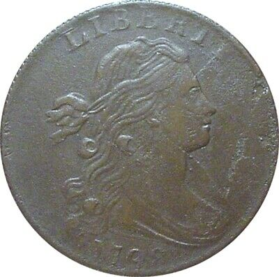 1798 Draped Bust Cent--(S-185)--Extra Fine