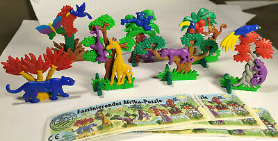 KINDER SURPRISE  3D Puzzle * Fascinating Africa* 1995  New with BPZ