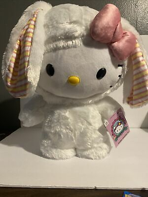 Hello Kitty Easter Bunny Door Greeter Rare Large Plush 2021
