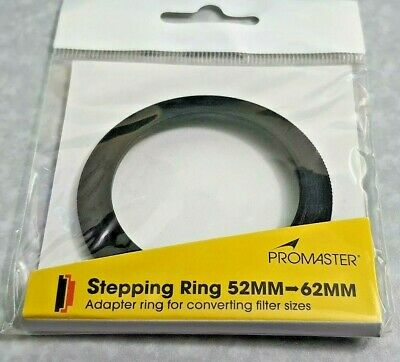 52-62mm Step-Up Adapter Stepping Metal Ring 52mm-62mm 52-62 mm 52mm - 62mm