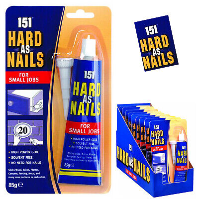 NEW 151 HARD AS NAIL//BATH /& SHOWER SILICONE MOULD RESISTANT FOR SMALL JOB