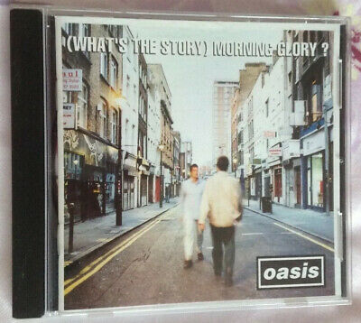 Oasis Whats The Story Morning Glory ? Cd 1995 Creation Records Sony Music
