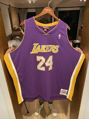 AUTHENTIC NIKE NBA Los Angeles Lakers Kobe Bryant Jersey 4XL 60 ...