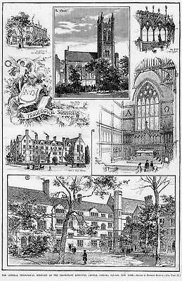 Theological Seminary Protestant Episcopal Church Print
