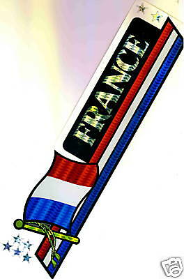 France, République française Flag Bumper Sticker NEW