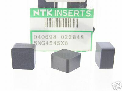 80 New Ntk Sng 454 Grade Sx8 Carbide Inserts P338S