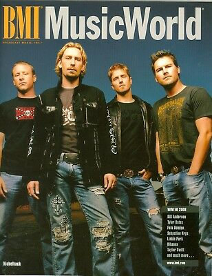Nickelback cover BMI Music World Taylor Swift Rihanna