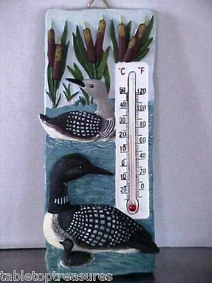 "LOONS ""On Golden Pond"" Thermometer #7776"