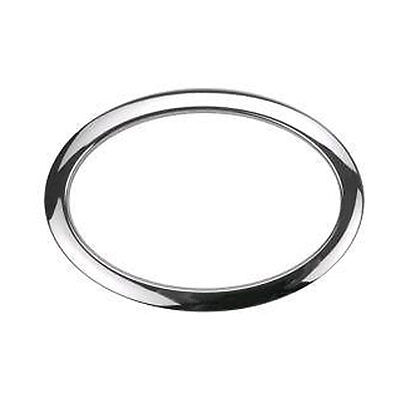 "DRUM O's Oval Hole Verstärkungsring 6"" Chrome Oval"