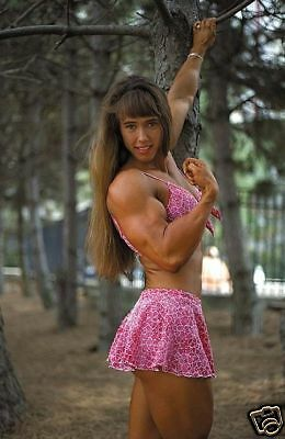 Female Bodybuilder Denise Hoshor WPW-338 DVD or VHS