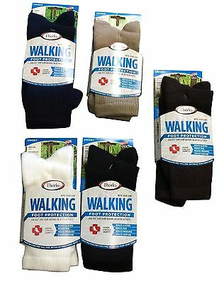4 Pair of mens thorlo walking socks  black   USA  XL EXTRA LARGE casual WX-15