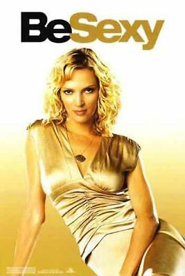 BE COOL - 2005 - orig 27x40 movie poster - Advance Style of UMA THURMAN - HOT!