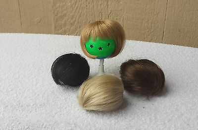 """Doll Wig - W276 Tiny Wig size 3""""(head): CHOICE of color."""