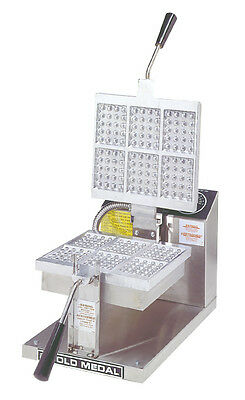 Gold Medal 5051 Ice Cream Waffle Baker Machine Maker