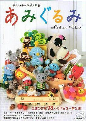 AMIGURUMI CROCHET COLLECTION VOL6 - Japanese Craft Book