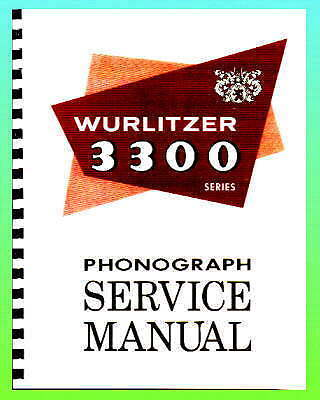 Wurlitzer 3300  3310Service Manual