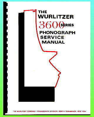 Wurlitzer 3600 Service & Parts Manual