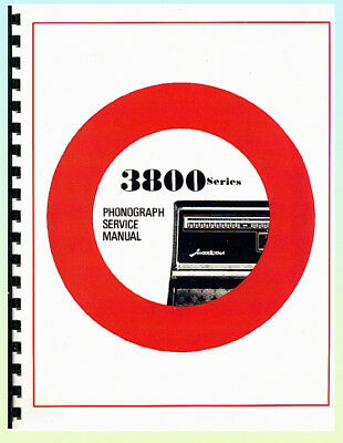 Wurlitzer 3800 Service & Parts Manual