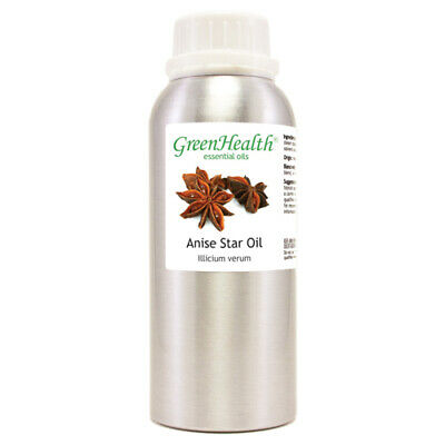 8 fl oz Anise Star Essential Oil (100% Pure & Natural) Glass Bottle