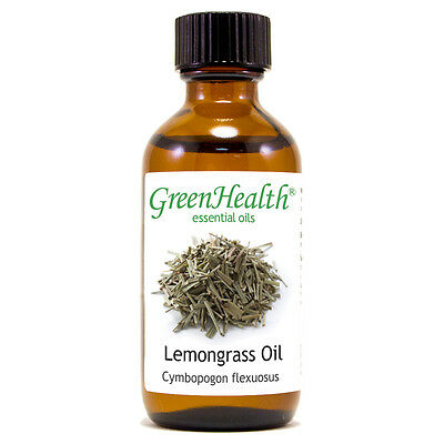 2 fl oz Lemongrass Essential Oil (100% Pure & Natural) - GreenHealth