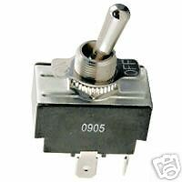 Toggle Switch ** On/Off  * 20 Amp@125V * 0.25 Terminals