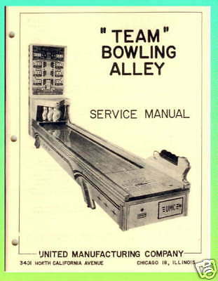 Team Bowling Alley United Ball Bowler Manual