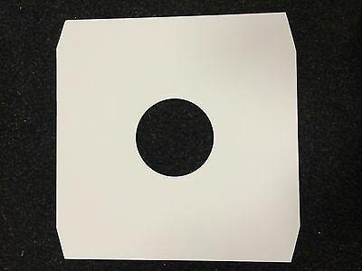 """100 12"""" White Paper Inner Record Sleeves *new* Free P&p"""