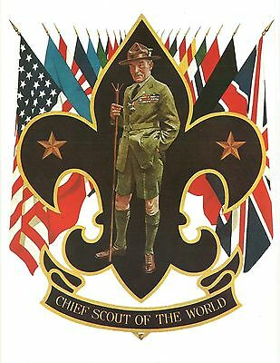 CHIEF SCOUT OF THE WORLD - 1920s