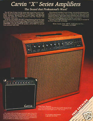 YAMAHA GUITAR AMP PINUP AD vtg 70/'s combo amplifier