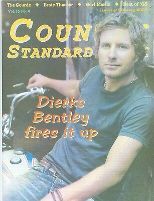 Dierks Bentley cover Country Standard magazine MINT