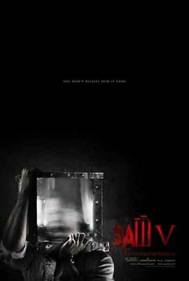 SAW 5 - 2008 - Orig 27x40 Movie Poster -2-sided - Advance A - TOBIN BELL
