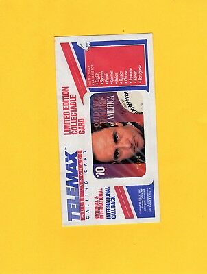 1994 Nolan Ryan Phone Card Error (Very Rare) Recalled