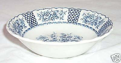 MYOTT STAFFORDSHIRE MELODY BLUE SOUP CEREAL BOWL