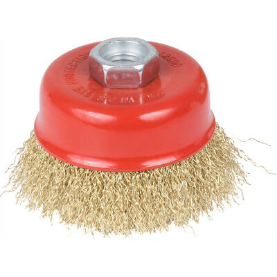 "75Mm 3"" Diameter X M10 X 1.5P Crimped Wire Cup Brush"