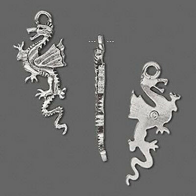 Wholesale Lot Dragon Pendant Silver Pewter Jewlery 4