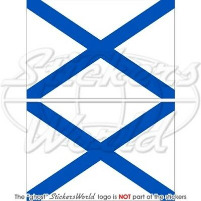 Russian Naval Ensign, RUSSIA NAVY Flag - Sticker, Decal