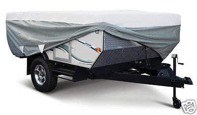 Deluxe PolyPro Folding Popup Camper RV Cover 18-20 foot