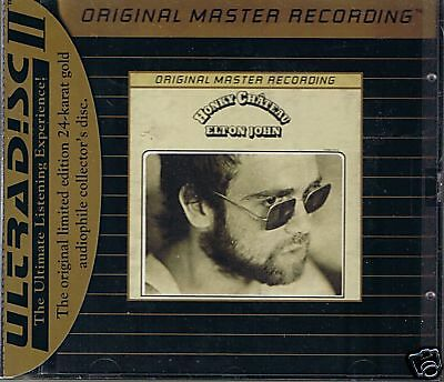 John, Elton Honky Chateau MFSL Gold CD Neu OVP Sealed