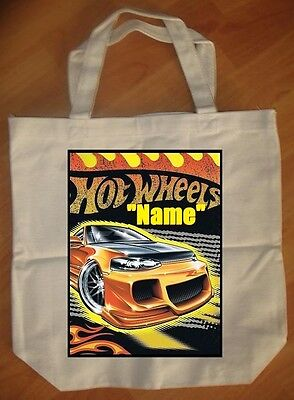 """Hot Wheels"" Personalized Tote Bag - NEW"