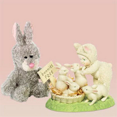 Dept 56  Snowbunnies  Some Bunny Loves You