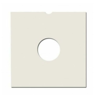 """50 12"""" Record Sleeves - White Card ( Masterbags ) Brand New + 24 H Delivery"""