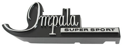 1968 Chevrolet Impala Super Sport SS Front Grille Emblem - Made in the USA