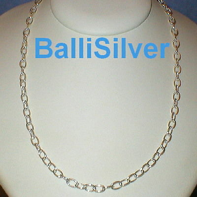 3 pieces Sterling Silver 925 1mm Thick Cable Chain NECKLACES Wholesale Lot 24""