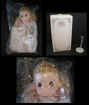 MINT Precious Moments PRINCESS MELODY #1200 Ltd Ed CLASSIC doll NEW IN BOX +COA