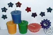 Lot of 120 Candle Dye Chips - 10 Colors - Your Choice!