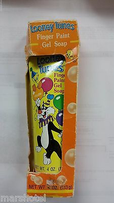 Looney Tunes Warner Bros Sylvester & Tweety Gel Soap Vintage Tube Full Sealed